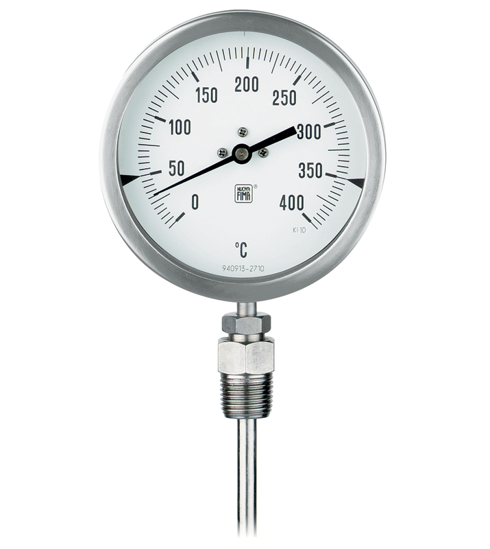 Bi-metal thermometers